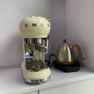 源自意大利的复古颜值意式咖啡机