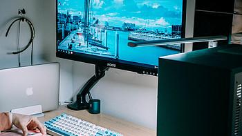 分享我的桌面,简洁、无线、静音的书桌,适合学习党