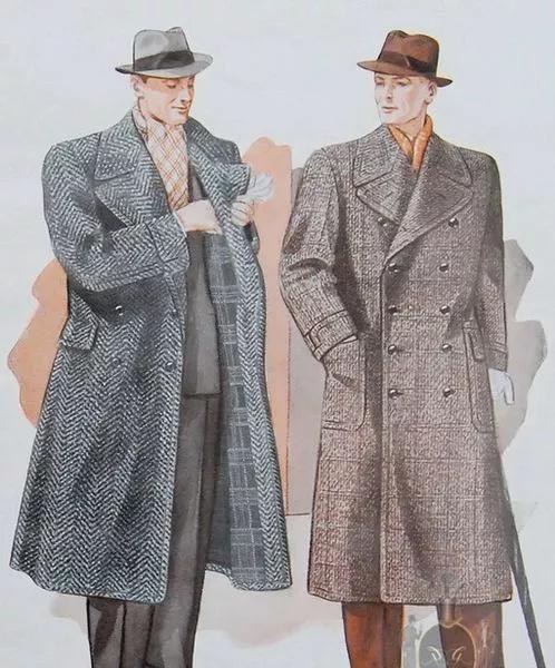 寒冷季节男装:阿尔斯特大衣 Ulster Coat