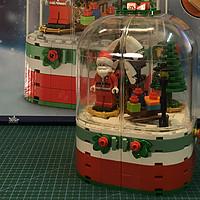 国产积木系列 篇三十六:森宝积木601090 圣诞音乐盒——一份不错的圣诞礼物