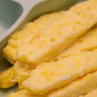宝宝辅食怎么做 篇八:米粉加鸡蛋,蒸一下就能吃