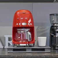 SMEG美式咖啡机测评——咖啡小白的滴滤式咖啡机初体验
