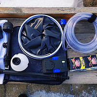 樂空手持鋰電高壓清洗機,隨時可以洗車!