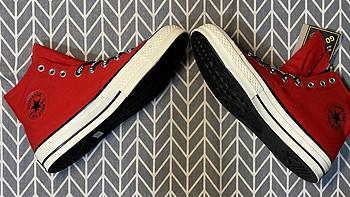 胖胖买的鞋 篇八十五:CONVERSE Chuck 70 Gore-tex 高帮帆布鞋