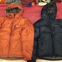 Montbell Permafrost Down Parka 两版对比