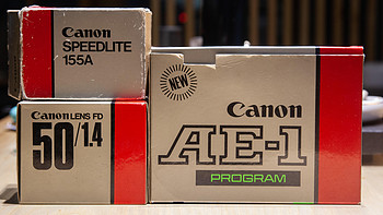你好1985---开35年前的全套ae1p胶卷相机套装