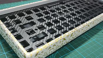 凯酷84改优联双模带灯机械键盘篇(一)--- 外壳改造