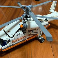 居家好物 篇三:匆匆这些年男孩子的玩具,乐高42052重型双旋翼直升机