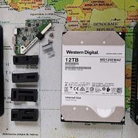 旧物新晒:WD elements 12TB硬盘拆盘放蜗牛详细流程