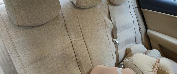荣威e550座椅套与脚垫更换
