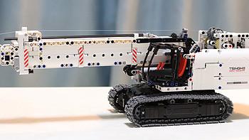 MOC作品 篇一:你可能不知道,小米积木还能这么玩?2锂电+6电机的全遥控版履带吊车