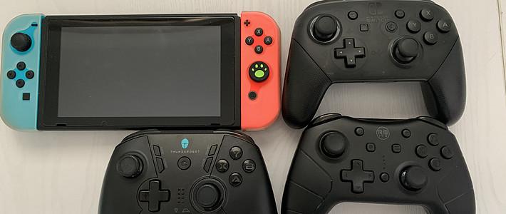 Switch 手柄详细对比评测(Switch Pro、良值2代、雷神G50)