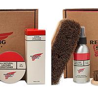 红翼原厂保养套装了解一下,RedWing光面革、油腊革养护套装介绍及试用(一)