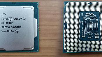 华硕B150M-A老主板换i3 9100f 9代cpu 笔记