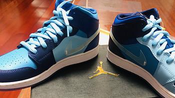 二丁目的篮球鞋 篇一百零三:这么好看的鸳鸯FLY鞋,居然只有女码--AIR JORDAN 1 MID FLY