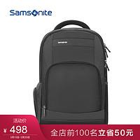Samsonite/新秀丽时尚休闲双肩包男高端商务背包潮轻电脑包36B10