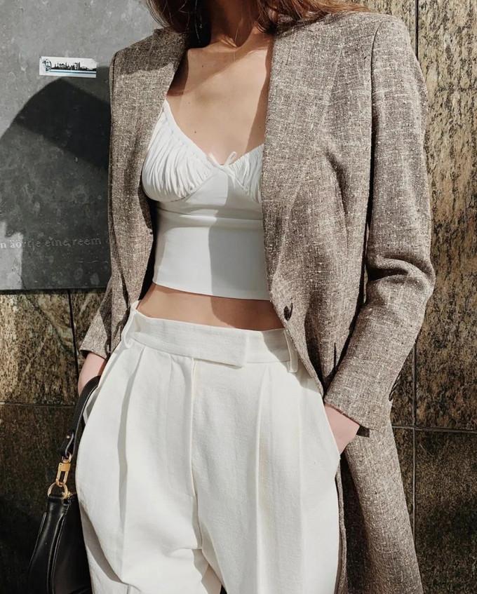 穿搭教程:胸衣外穿的时尚法则,嗲嗲的女孩子都这样穿