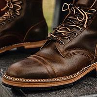 易搭配的工装靴种草——N双扁平鞋头工装靴图赏