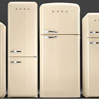 颜值主义 SMEG冰箱FAB28开箱