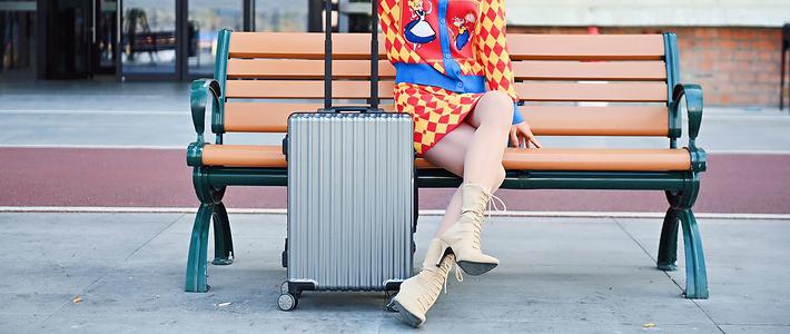 一秒解锁+手机充电,Mayshine美炫指纹行李箱评测!