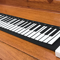 手卷钢琴测评 随身携带,88琴键想弹就弹