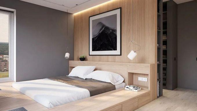 3㎡地台床设计图鉴:80后家居标配,卧室不放床还大两倍,比榻榻米更好用!
