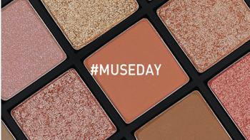 3CE推出十周年定制版25色眼影盘 #MUSEDAY