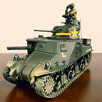 """軍火庫 篇二十六:FOV 1:32 M3 Lee medium tank""""李"""" 中型坦克"""