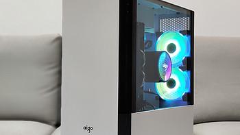 清爽简洁又实用 爱国者破晓X分体式 白色机箱+碟影MAX V5幻彩版上手体验