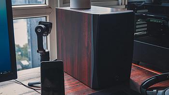 性价比极高的多媒体音响——惠威Hivi D1090蓝牙有源音箱感受