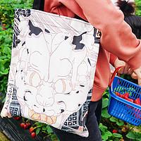 居家通勤必備品,實用抗造不心疼—藝術托特帆布包開箱展示