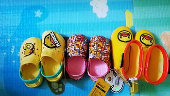 热门宝宝鞋~B.Duck小黄鸭童鞋(凉鞋、雨靴)开箱