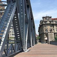 踏春漫游,滨江东岸骑车真是太舒服了!一直到外白渡桥