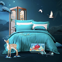 富安娜京东小魔方新品日 素绣系列再现国粹传承 打造精致寝具
