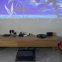100+件小米设备 米家全家桶打造智能家居(四)投影篇 4K与1080P对比,7种幕布测试