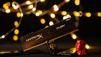 【评测】听说你C盘还没我内存大?HyperX Fury DDR4 3200Mhz 32GBx4测试