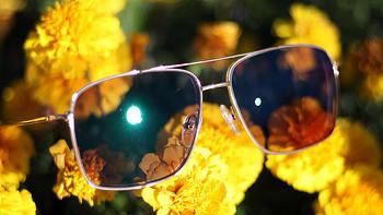 智趣测评 篇一百六十一:谁说近视眼不能戴墨镜?TAPOLE超轻纯钛变色眼镜让我帅帅的