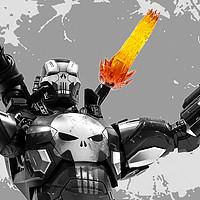 披上铁甲的罪恶克星!Hot Toys 战争机器装甲版 惩罚者 1/6可动人偶