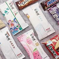 钟薛高可爱多大白兔…网红联名款雪糕到底好不好吃?