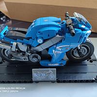 国产积木 篇五:森宝701102摩托拼装体验