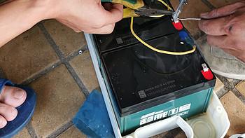 喜迎神兽开学,36V爱玛电动车更换超威一号电池