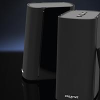 创新科技 CREATIVE T100 桌面音箱开箱测评