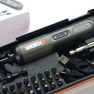 实用至上,精致不足 WORX WX240锂电电动螺丝刀