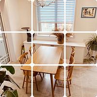 """如何避開""""實木""""家具的坑?——""""初海""""白橡木餐桌椅購買記"""