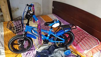 给孩子的第一辆自行车 安装小经验