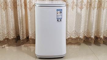 米家3Kg婴童专属洗衣机:性能适中,蒸煮除菌洗护更放心