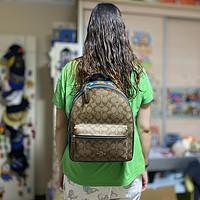 服飾快消品 篇一百五十二:759.05元買的COACH F72712 SVOT8 女士中號雙肩包
