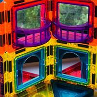 玩的开心 篇三十九:儿童节史低价入手 奥迪双钻彩窗磁力片130件晒单