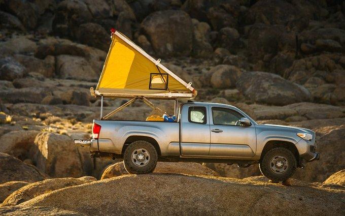 10大热门风格露营车顶帐篷推荐,保时捷也能变成移动之家