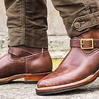 又一双少见但高端的电工雨鞋——Viberg 2060马皮扁头工程师